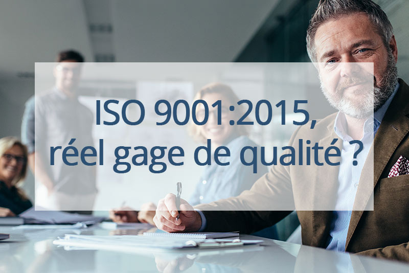 fournisseur norme ISO 9001:2015